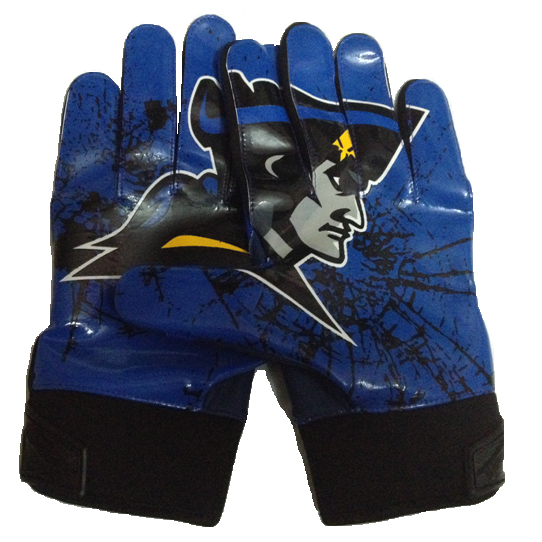 FOOTBALL GLOVES ISOLATED