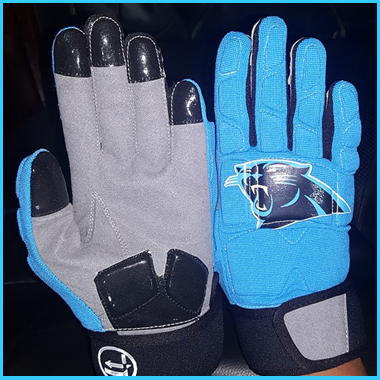 LINEMAN GLOVES II, PANTHERS