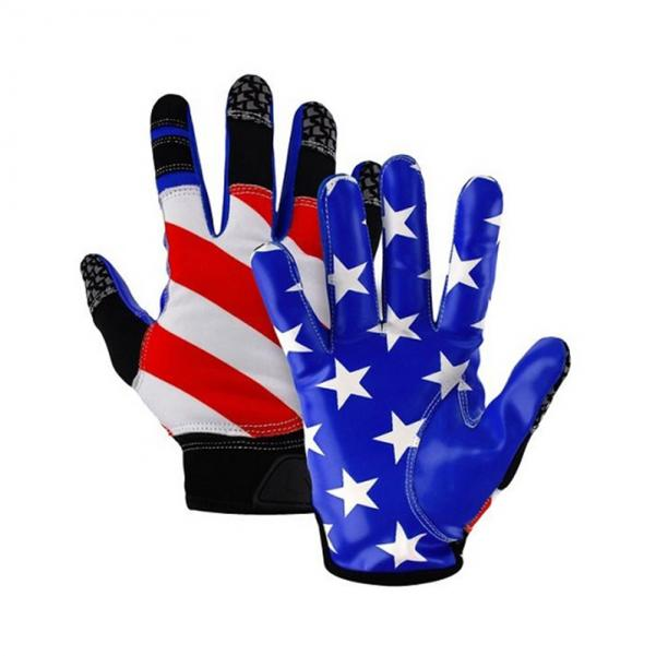 all american skill poistion football gloves with silicone